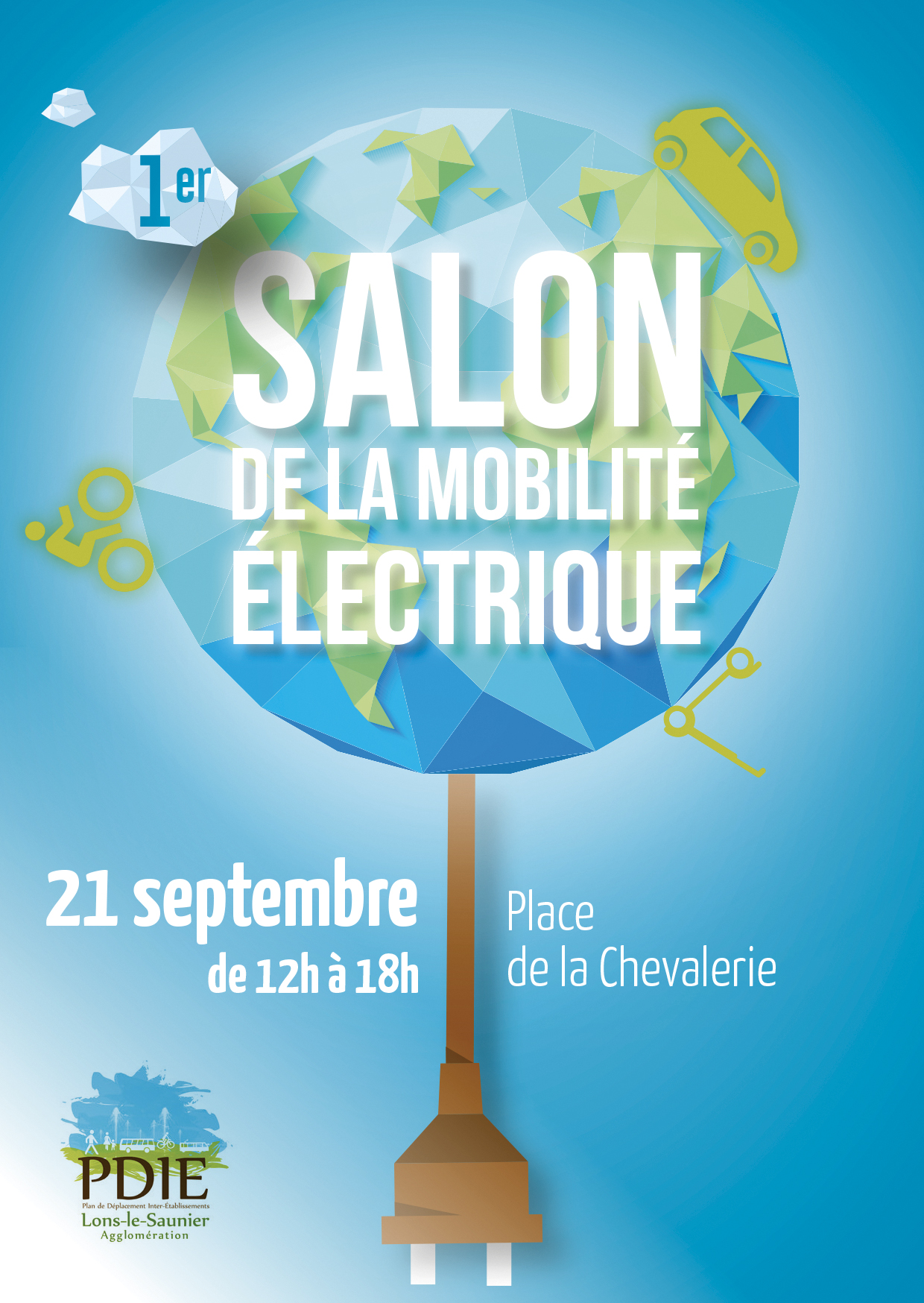 1er salon de la mobilit electrique mercredi 21 septembre lons le saunier. Black Bedroom Furniture Sets. Home Design Ideas